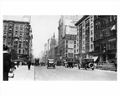 5th Avenue North to 42nd Street Midtown Manhattan 1914 NYC
