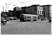 5th & Flatbush Ave - 5th Ave Trolley Line 1948