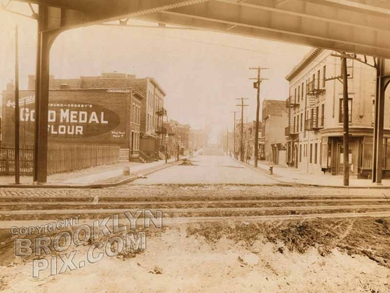 64th Street, northwest from New Utrecht Avenue, 1918