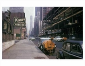 6th Ave Looking North - Midtown Manhattan -