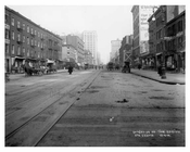 7th Avenue between 20th & 21st Streets - Chelsea - Manhattan  1914