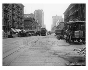 7th Avenue between 21st & 22nd Streets  - Chelsea -  Manhattan - 1915