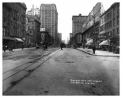 7th Avenue - between 22nd & 23rd Streets  1917 Chelsea NYC