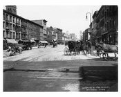 7th Avenue between 29th & 30th Streets - Chelsea - Manhattan  1914