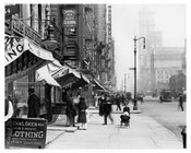 7th Avenue between 34th & 35th  Streets  - Chelsea - Manhattan 1914