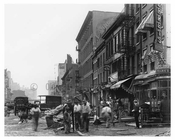 7th Avenue between 35th & 36th Streets 1916 August 1916 Chelsea NYC