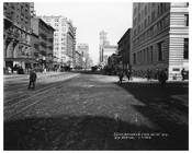 7th Avenue between 36th & 37th Streets 1916 August 1916 Chelsea NYC