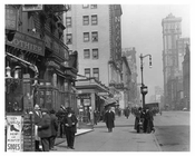 7th Avenue between 36th & 37th Streets Midtown Manhattan 1914