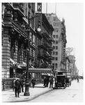 7th Avenue between &  36th Street  - Midtown Manhattan - 1915