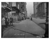 7th Avenue between 40th & 41st Streets - Midtown Manhattan - NY 1914