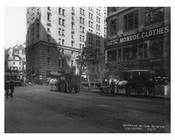 7th Avenue between 42nd & 43rd Streets Avenue - Midtown - Manhattan  1914