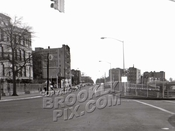 7th Avenue from 79th Street with new expressway, c.1964
