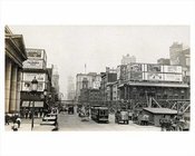 7th Avenue looking north facing 33rd Street from Penn Station 1914