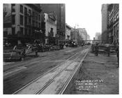 7th Avenue street view between 41st & 42nd Streets Hells Kitchen Manhattan 1916