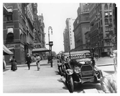 7th Avenue &  West 54th Street -  Midtown Manhattan 1914