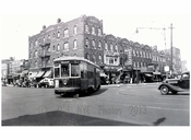 86th St. Trolley Line 1940 - Brooklyn NY