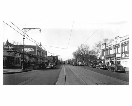 86th Street & 18th Avenue 1946 Bensonhurst - Brooklyn NY