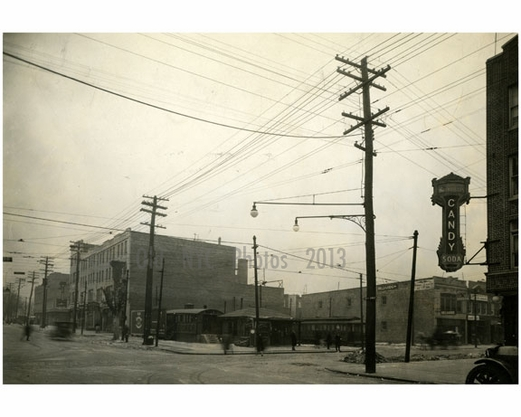 86th Street East of 5th Avenue  1927