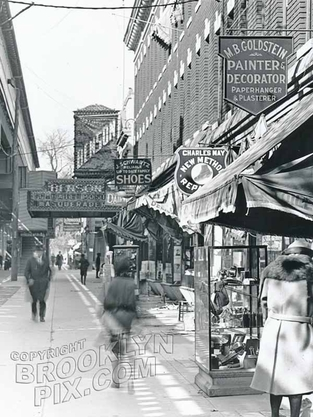 86th Street, northwest to 20th Avenue and Benson Theater, 1920