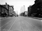 8th Avenue, north to West 23rd Street, Chelsea, 1926