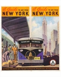 A Guide to and From New York - between trainside and the metropolis via streamlined motorcoaches
