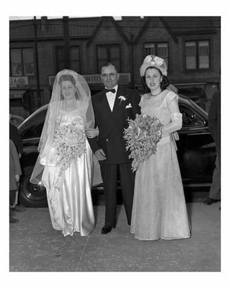 A wedding in Bensonhurst Brooklyn NY 1948