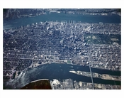 Aerial view of Manhattan