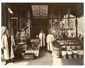 AF Beyer Store on Albany & Dean Crown Heights 1910