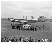 Air France on Tarmac at Idlewood Airport 1948