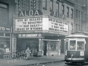 Alba Theater, 250 Flushing Avenue, Bed-Stuy, 1951
