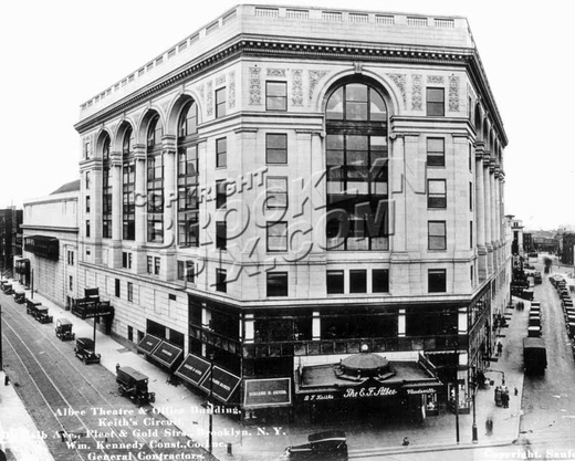 Albee Theater, official builder's photo, c.1928
