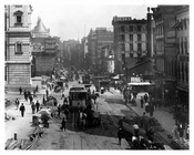 Alternate view of City Hall Park - Centre Street & Chambers 1904