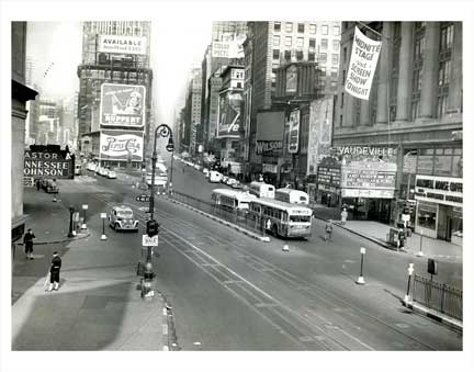 Annette Haven Looking from Times Square and 42nd Street