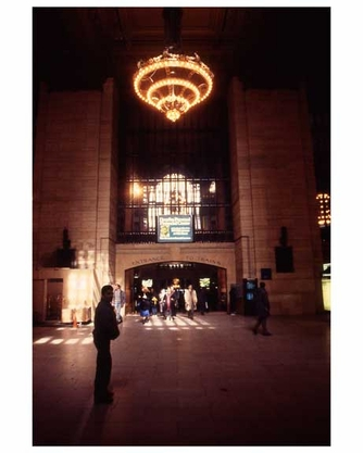Architecture Inside of Grand Central Station 1988