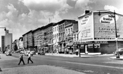 Atlantic Avenue looking west from Bond Street, 1959