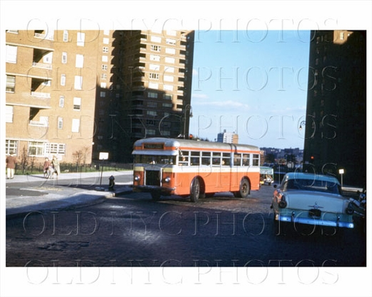 Avenue B East Broadway Lower East Side 1955
