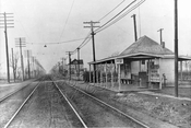 Avenue U station on the Brighton Line looking north, 1901