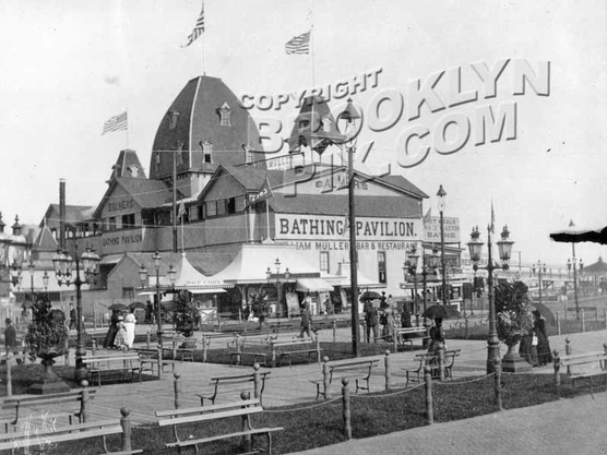 Balmer's Bathing Pavilion, West Brighton, c.1890s
