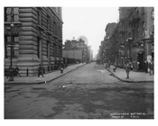 Battery Place & Washington Street - Financial District - Manhattan  1914