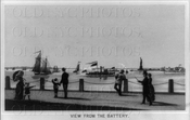 Battery view of Statue of Liberty