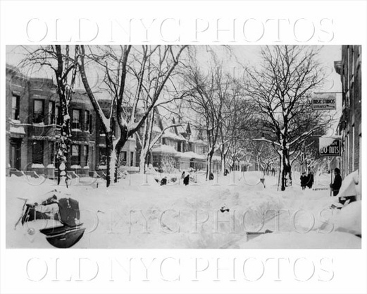 Bay Ridge after snow storm