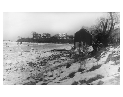 Bay Ridge Shore in Winter Brooklyn NY
