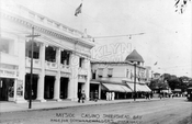 Bayside Casino, Emmons Avenue at Ocean Avenue, where Lundy's is now, 1914