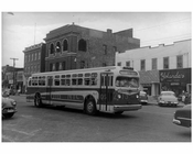 Beach Street 116 th Street Rockaway Park Bus NYC 1957 - Rockaway Queens NY