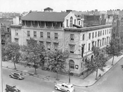 Bedford Avenue at Keap Street, former YWCA became YMHA, 1937