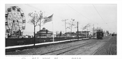 Bergen Avenue looking South form Avenue L showing Bergen Beach Resort 1898