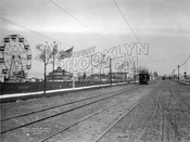 Bergen Avenue looking south from Avenue V, 1902