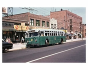 Bergen Street Bus - Crown Heights - Brooklyn, NY 1950s