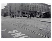 Bergen Street looking north toward 5th Avenue - Park Slope  - 1941 - Brooklyn NY