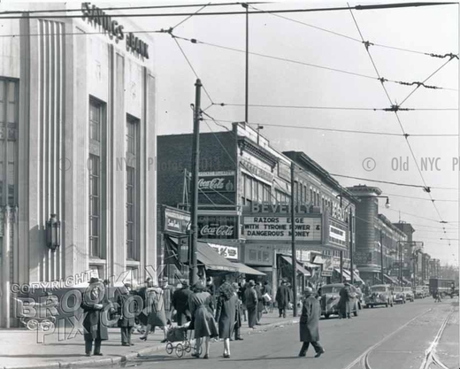 Beverly Theater, Church Avenue east of McDonald Avenue, Kensington, 1947
